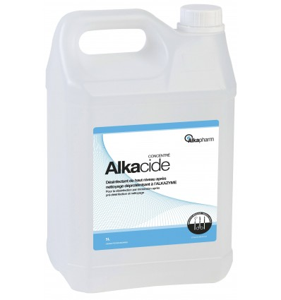 Alkacide Solution en Bidon Prêt à l'Emploi - Alkapharm - Steralis