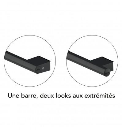 Barre D'Appui 135° 350X350Mm Onyx Black Akw