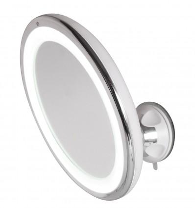 Miroir grossissant tactile à LED