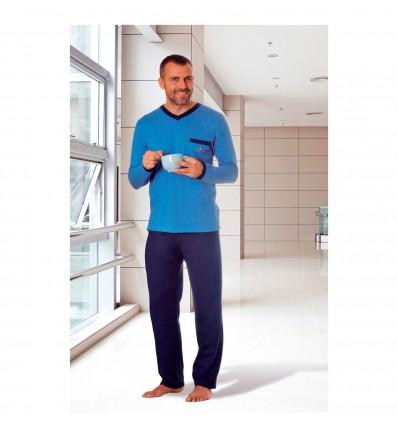 Pyjama homme traité anti-microbien