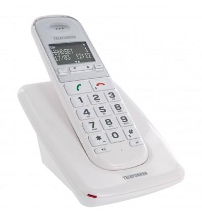 Telephone Ss Fil Telefunken Td301 Blanc