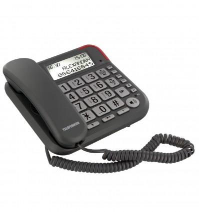 Telephone Filaire Repondeur Telefun Tf651