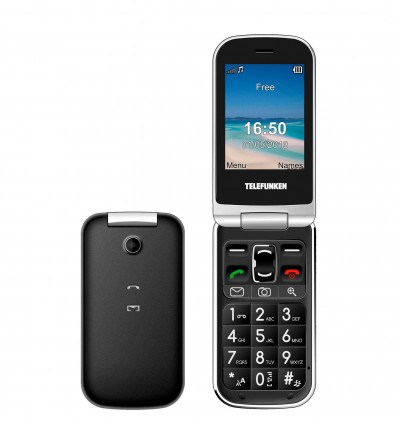 Telephone Portable Telefun Gsm Tm200 Noir