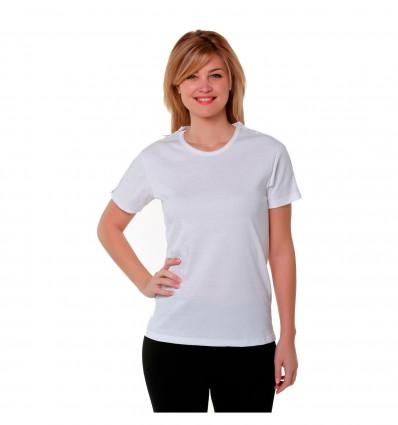 Tee Shirt Mixte Mc Ouvert Manche Aimant Blc T1