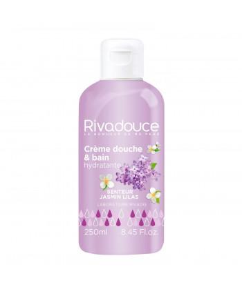 Crème bain douche jasmin lilas