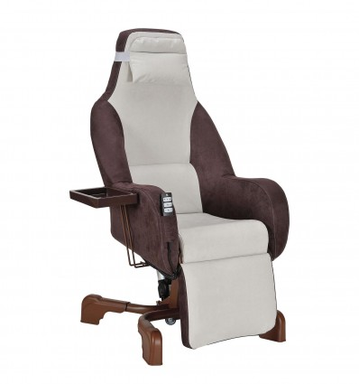 Fauteuil Etoile Microfib T10 Choco Ppc[Ar]
