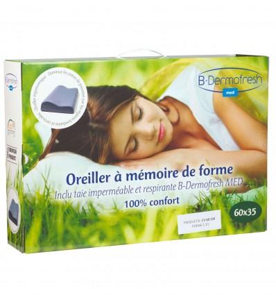 Oreiller Cervical Mf 60X31Cm Dermofresh