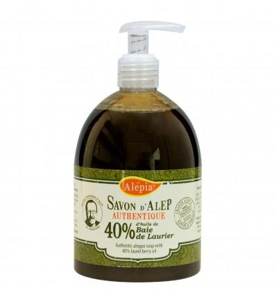 Savon Liquide Alep Authentique 40% 500Ml