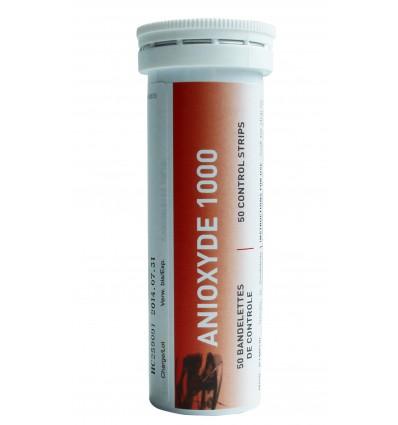 Bandelettes de Contrôle pour Anioxyde 1000