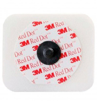 Electrode Red Dot 4X3,5Cm Soin Intensif