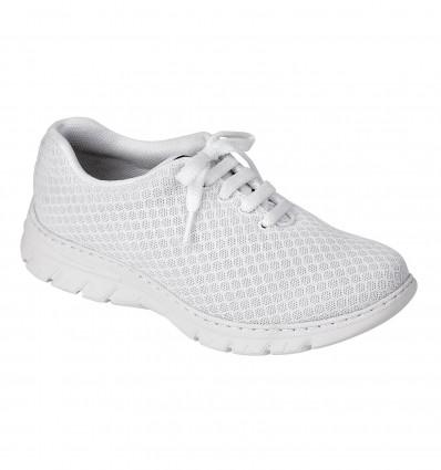 Chaussure Calpe Basket Lacet Blanc T35