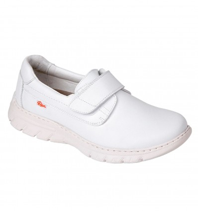 Chaussure Florencia Basket Velcro Blanc T35