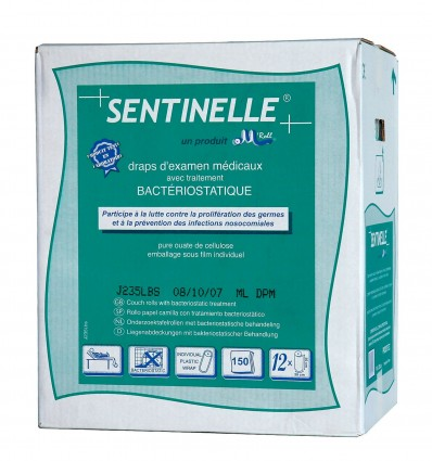 Drap Ouate 150F Bacteriost Blanc