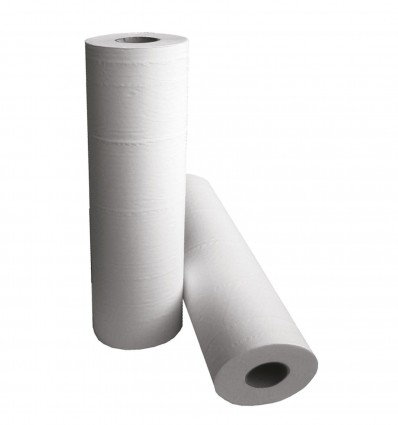 Drap Ouate 80F 50X40Cm Ouate Blanche 2P