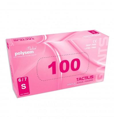 Gant Tactilis T6/7 Vinyle Non Poudre