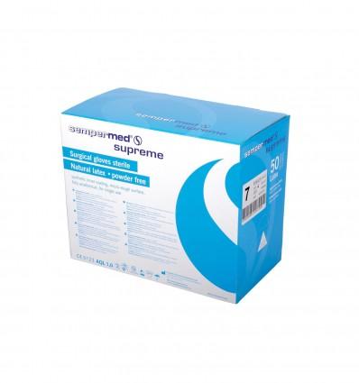 Gant latex Sempermed® Supreme non poudre stérile