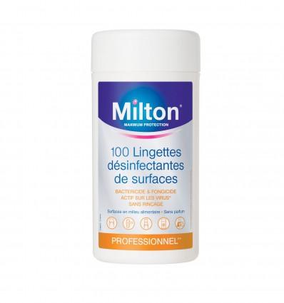 Lingette Agro Desinfectante Miltonx100