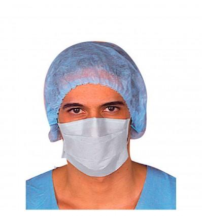 Masque Hygiene Papier 2 Pli Elastique