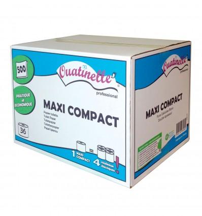 Papier Toilette 500F Maxi Compact Lisse 2P