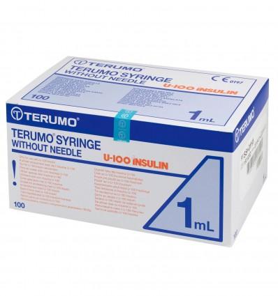 Seringue Terumo Ins 1Ml 100U Aa 16X0,5Mm