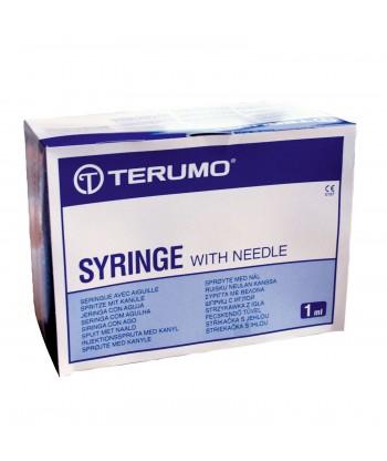 Seringue à tuberculine 3 pièces TERUCRISTAL® stérile sans aiguille