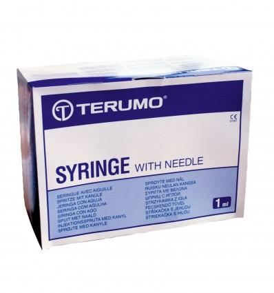 Seringue Terumo Tuber 1Ml 16X0,5Mm