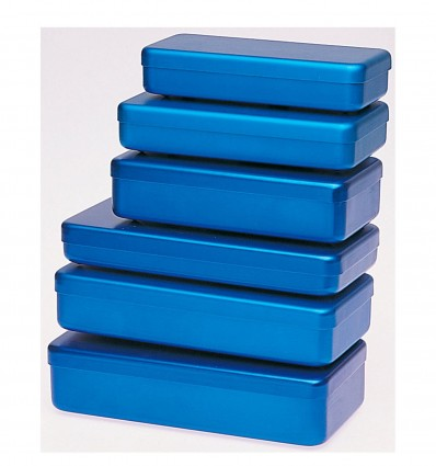 Boite Alu Bleu 170X70X30Mm
