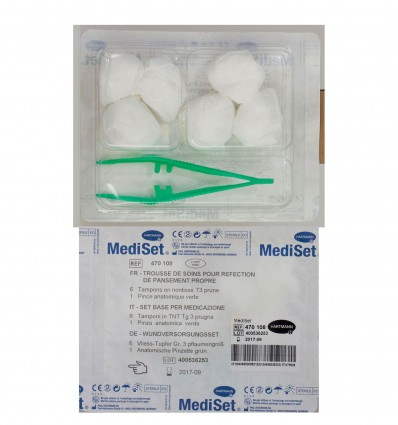 Trousse Mediset Refection Pansement