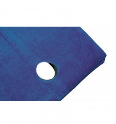 Housse Eponge Table Trou Visage Bleu