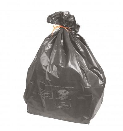 Sac Poub 100L Gris Pe Vierge Recycle