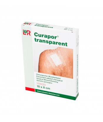 Pansement adhésif chirurgical CURAPOR® TRANSPARENT