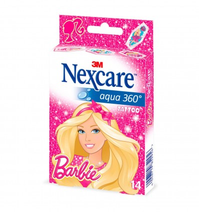 Pansement Nexcare Barbie Bte 14