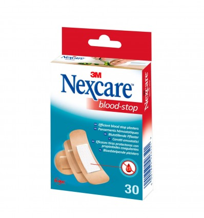 Pansement Nexcare Blood Stop Bte 30 3T