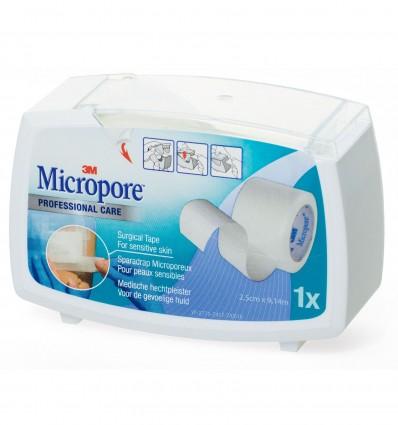 Sparadrap Micropore 2,50Cmx9,14M Dev Ferme