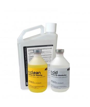 Starter Kit Icare - N Clean Pack de 6 Bouteilles + N Cid Pack de 6 Bouteilles + Huile de maintenance