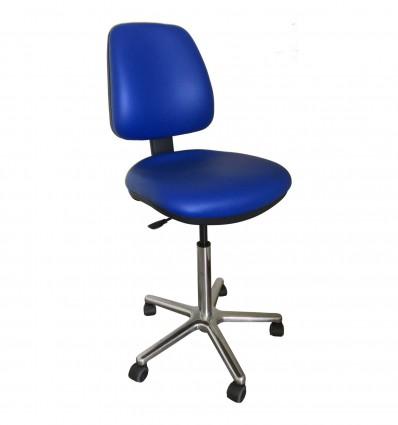 Chaise haute tabouret & siège de labo ergonomique avec dossier
