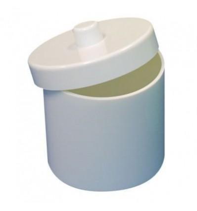 Pots à coton mélaminés pour praticiens