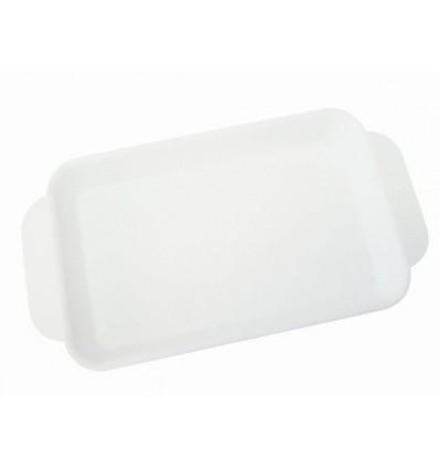 Plateau de soin polypropylène blanc pour praticiens