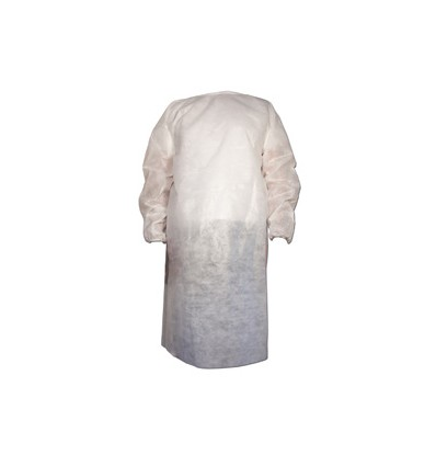 Blouse d'isolation jetable