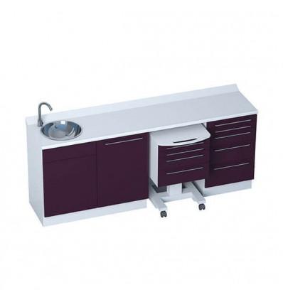 Meuble Cabinet Medical HANDFREE 4 Modules